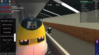 Roblox Terminal Railways Class 373 Eurostar Arrives and Departs at Eldershire Central (Low Level)