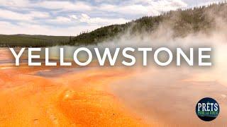 Nous avons visité le parc national Yellowstone