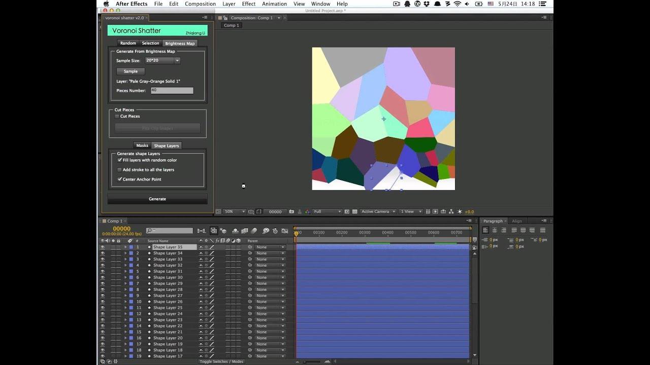 Voronoi shatter v2 free download