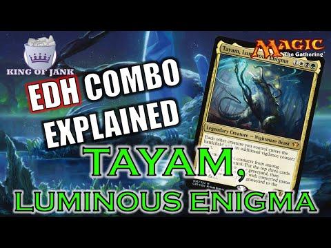 Luminous Enigma Commander 2020MTGMAGICNMENFOIL Tayam