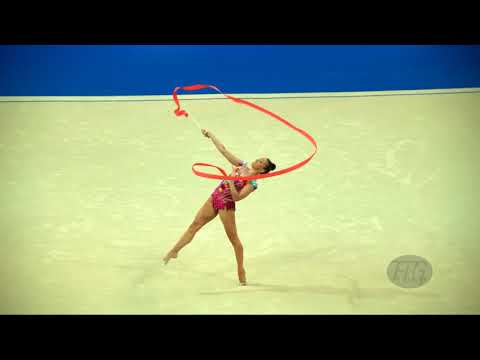 TASEVA Katrin (BUL) - 2017 Rhythmic Worlds, Pesaro (ITA) - Qualifications Ribbon