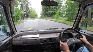1991 Honda Street Test Drive