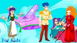 My Little Pony MLP Equestria Girls Transforms  with Animation Love Story Cinderella