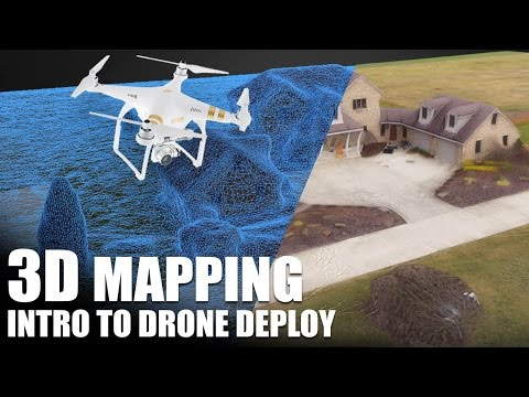 3D Mapping  - Intro to Drone Deploy   Flite Test
