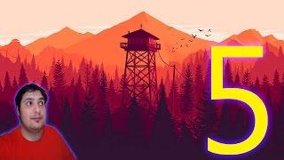 FIREWATCH WALKTHROUGH GAMEPLAY Part 5 wrong way