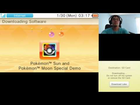How to install pokemon sun and moon demo on your 3ds