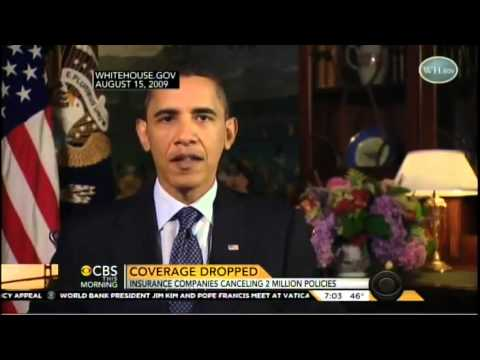 CBS: Over 2 Million Americans Have Already Received Insurance Cancellations Due To ObamaCare