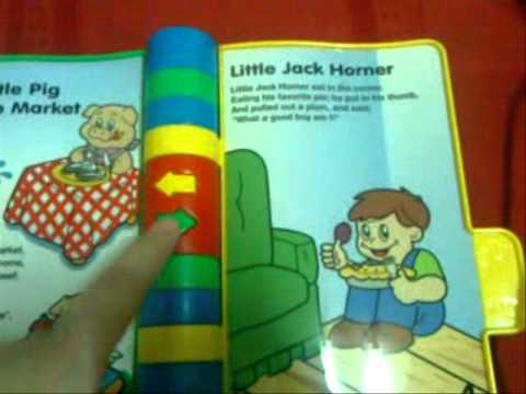 Storytime Rhymes Musical Story Book By Vtech Youtube