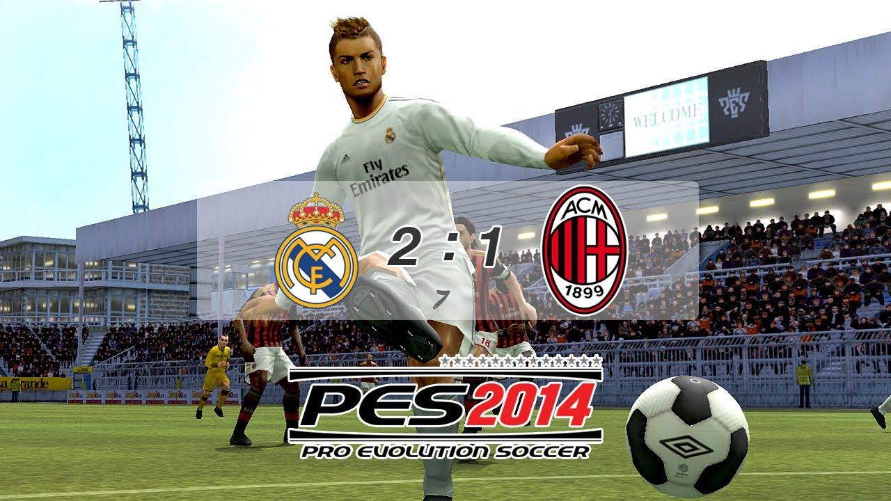 PES2014 (Match Highlights: Real Madrid C.F. V A.C. Milan)