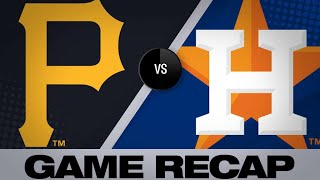 Pirates erupt for 14 runs to rout Astros | Pirates-Astros Game Highlights 6/26/19