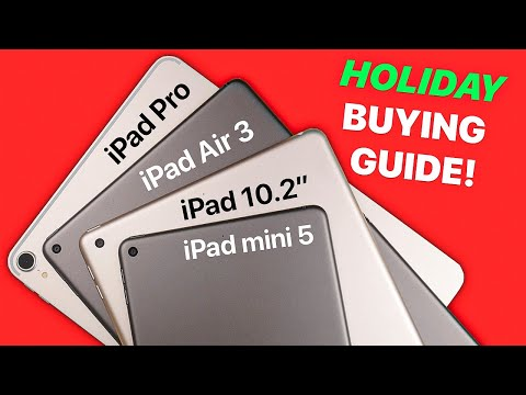Which 2019 IPad Should You Buy? | Buying Guide!