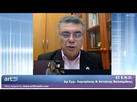 ΕΙ - Ε Ν D. Λαμπράκης, Βαλσαμάκης 30.5.2014 artFM Radio Cyprus