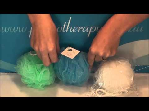 Net101 S Pastel Shower Net Sponge Youtube