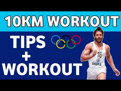 �� 10KM Workout in Hindi | 10km running tips | 10 km running training | how to run 10km in 40 minutes