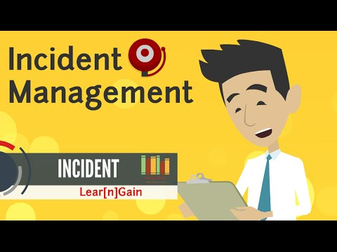 INCIDENT MANAGEMENT - Learn and Gain
