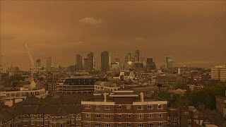 Hurricane Ophelia brought dust from the Sahara and smoke from wildf...