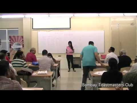 Meeting 183 - Bombay Toastmasters - 22 Aug 2015