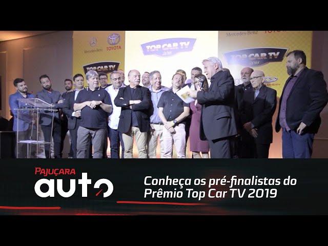 Conheça os pré-finalistas do Prêmio Top Car TV2019