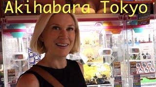 Akihabara Tokyo Vending Machines and Claw Games