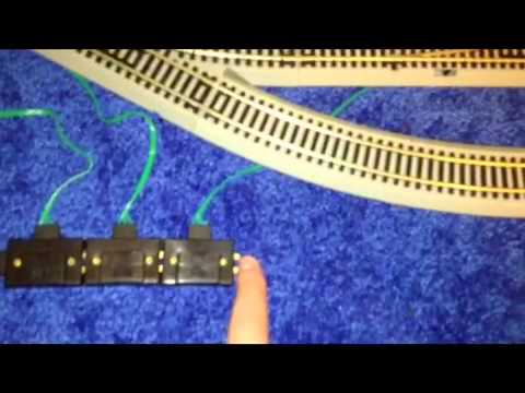 how to wire bachmann ho switches youtube rh youtube com HO Scale Gauge Wiring ho train track switch wiring