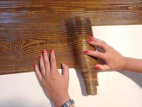 Jak Zrobic Efekt Drewna Montaz Tynk Dekoracyjny Drewnopodobny W