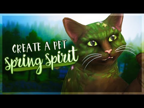The Spirit of Spring!  The Sims 4: CreateaPet!