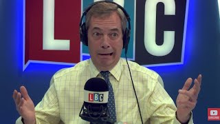 The Nigel Farage Show: joined by Jacob Rees-Mogg. Government selling out Brexit? LBC - 6th Dec 2017