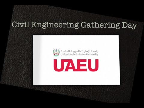 UAEU_Civil Engineering Gathering Day