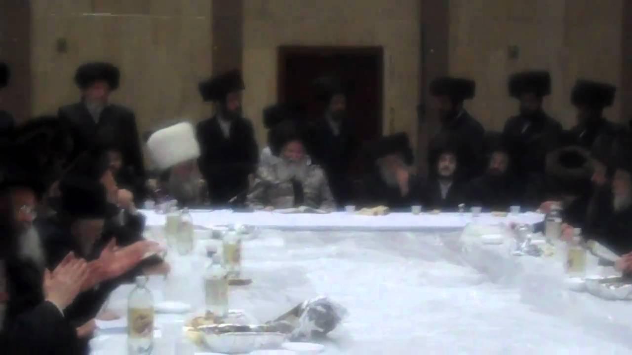 Bobov Purim Tish 2011