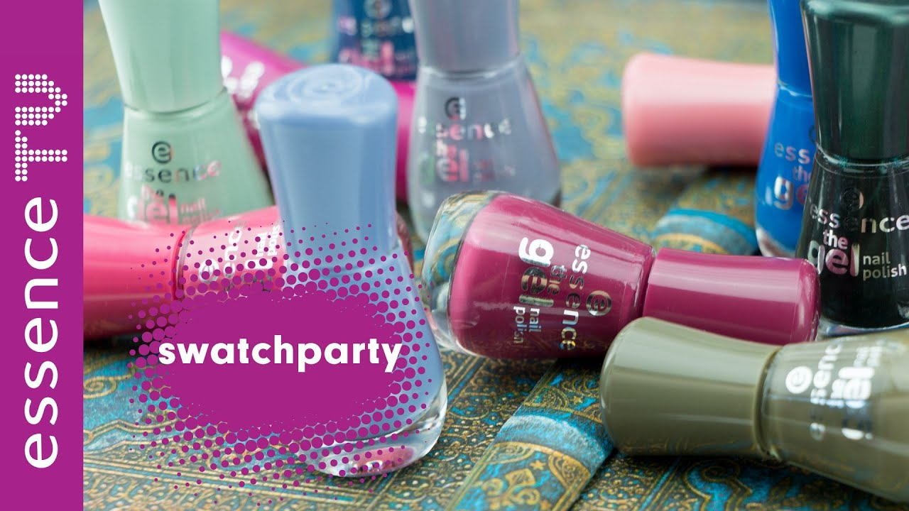 essence neues sortiment 2016 - nagellacke swatch party neue farben l ...
