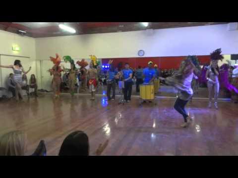 Brazilian Dance Academy Opening Mishel & Marcia Samba Freestyle