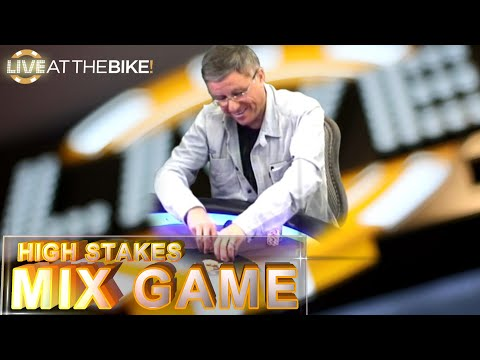 High Stakes Mix Game with Eli Elezra ♠ Live at the Bike!