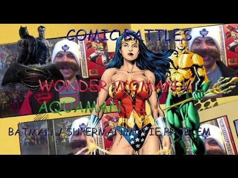 The Superman V Batman Problem (Wonder Woman vs Aquaman Comic Battle)