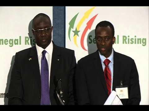 Washingtton DC-Senegal Investment Conference de Presse Mouhamadou Makhtar Cisse-Ministre Budget