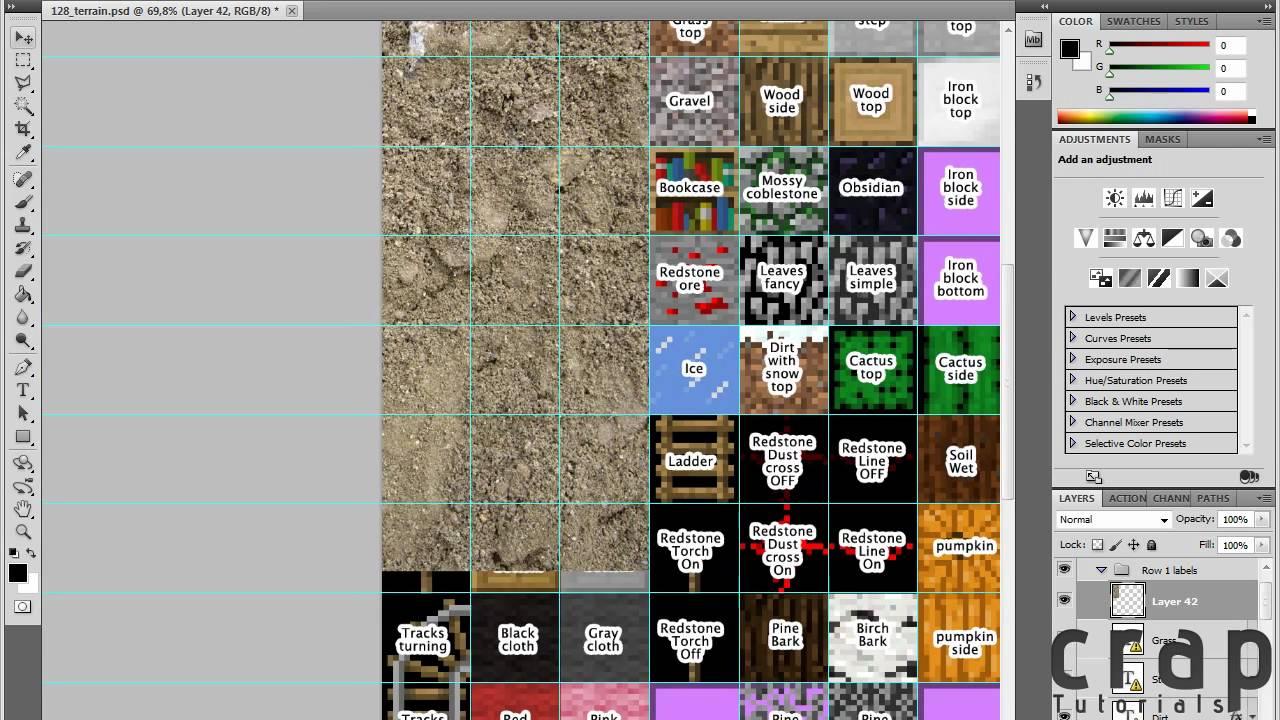 Minecraft Texture Pack Erstellen Auch In Hd 128x128 123