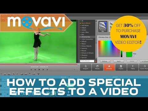 Special Effects in Movavi Video Editor 10: Try Them Now for Free!