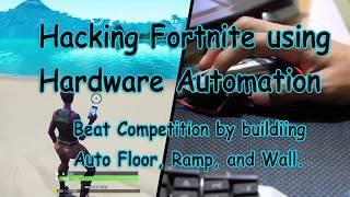 Hacking Fortnite using hardware automation