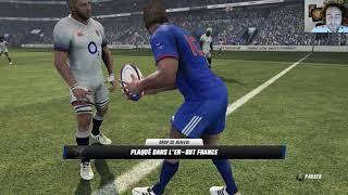 ANGLETERRE - FRANCE : Rugby Challenge 3