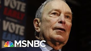 Mike Bloomberg Set To Debate Rivals For The First Time | Deadline | MSNBC