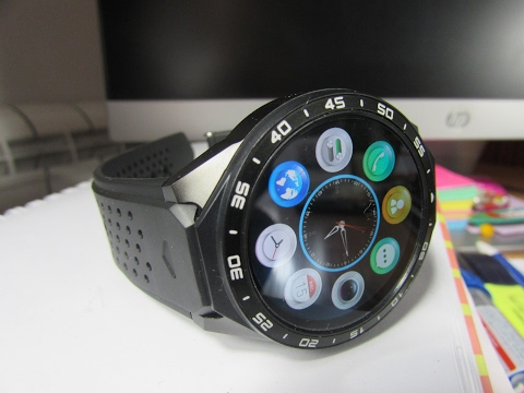 KW88 Smartwatch Review - AMOLED Display and FULL SMARTPHONE EXPERIENCE!