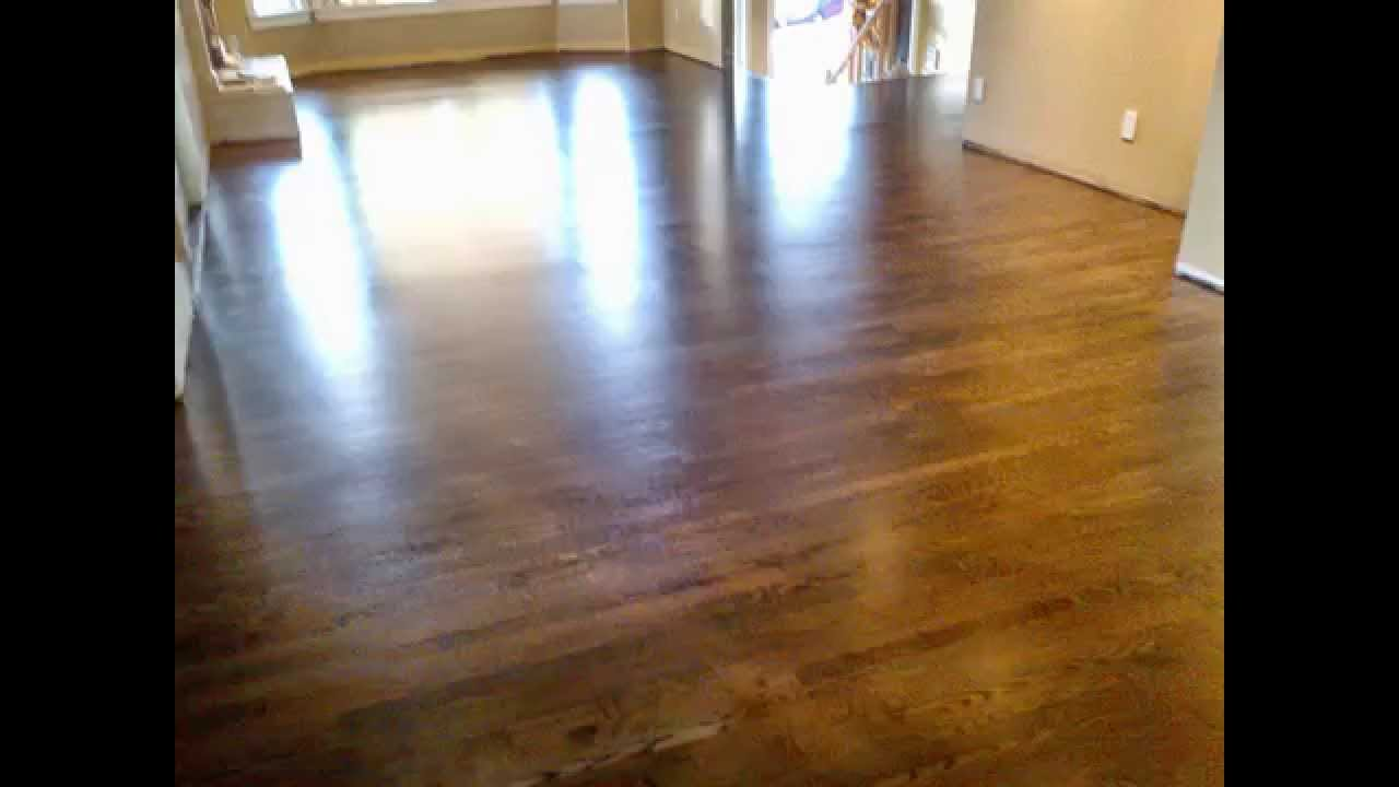 Dark Stained Glitsa Gold Seal Swedish Finish Coquitlam