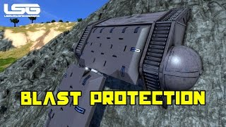 Space Engineers - Blast Protection Base