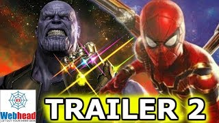 When Will The Avengers Infinity War Trailer #2 Come Out? | Webhead