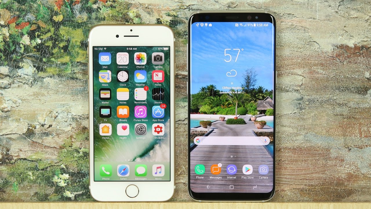 Samsung S8 Vs Iphone 7 Comparison