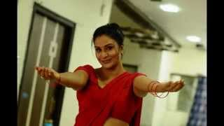 Apoorva Aunty in Red Saree