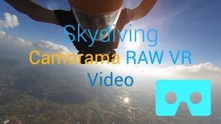 Skydiving - Camorama 4K 360 VR Video