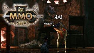 Goat MMO Simulator | Magos, Peces con patas y Dinosaurio Crazy