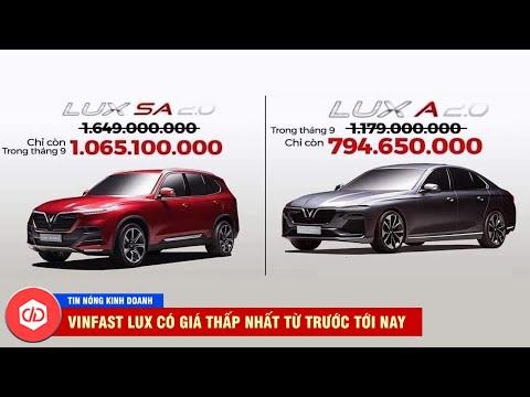 VinFast Gây Sốc Với Giá Lux A2.0 Là 794,6 Triệu Đồng, Lux SA2.0 Giá 1,065 Tỷ