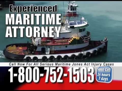 Tampa Florida Jones Act Maritime Injury Attorney Lawyer   Call 1 800 752 1503