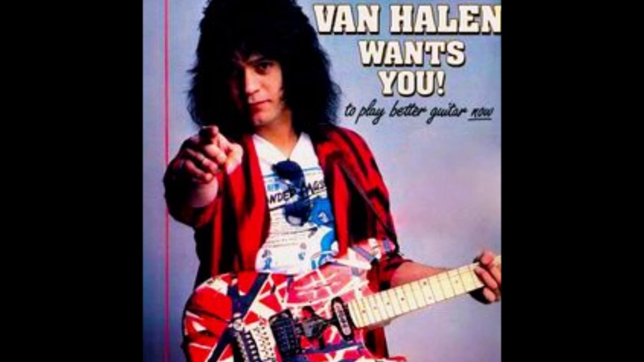 Eddie Van Halen - You Really Got Me - Guitar Track